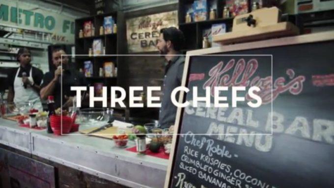 Kelloggs Three Chefs