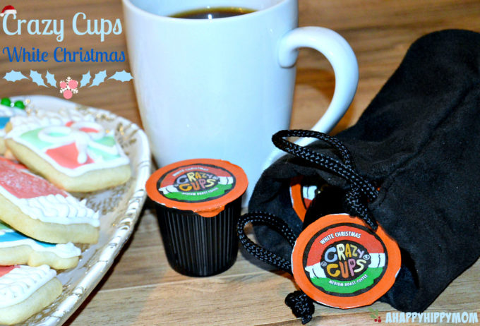 Crazy Cups White Christmas Flavored Coffee #FlavorNation