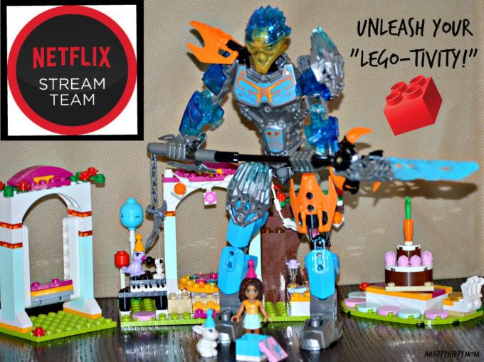Netflix- Unleash Your LEGO-tivity! #StreamTeam