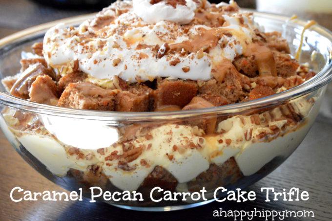 Caramel Pecan Carrot Cake Trifle