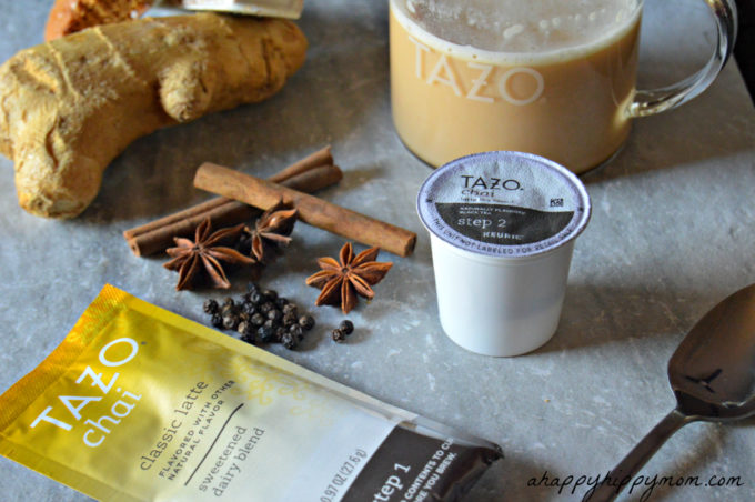 TAZO Chai Latte K-cups