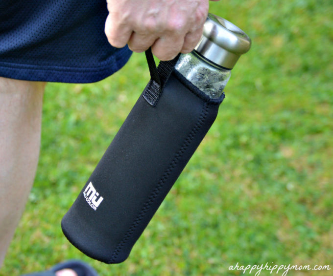 MIU COLOR® Borosilicate Glass Water Bottle Review & Giveaway!