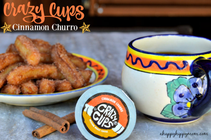 Crazy Cups Cinnamon Churro Flavored Coffee Giveaway! #FlavorNation