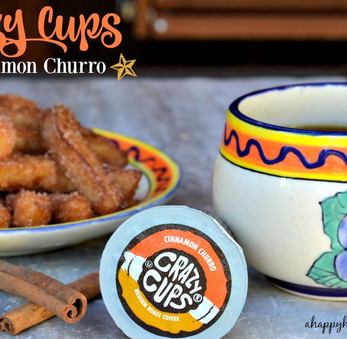 crazy cups cinnamon churro