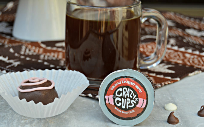 Crazy Cups Chocolate Raspberry Truffle Coffee & Giveaway! #OperationCoffee