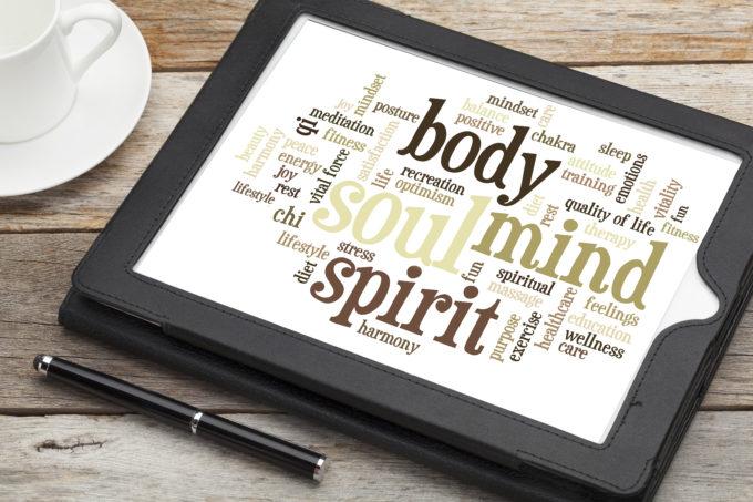 mind, body, spirit and soul