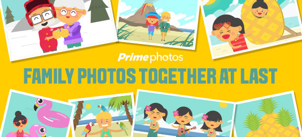 Amazon Prime Photos All New Features! Plus $500 gift card Giveaway! #PrimePhotos #FamilyVault