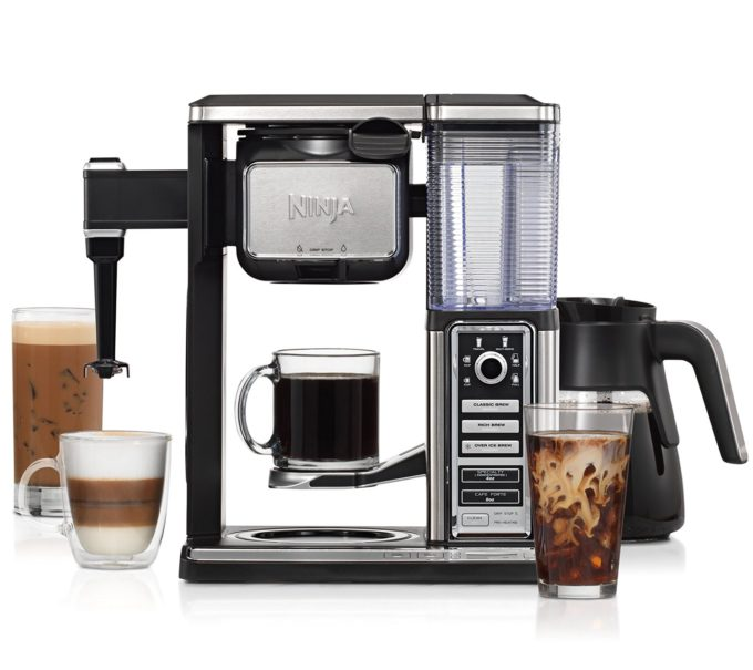 Holiday Entertaining with Ninja Coffee Bar® System & Peppermint Latte Recipe
