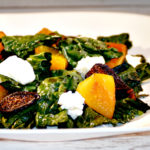 Roasted Kale and Beet Salad