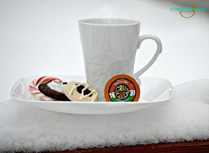 White Christmas coffee
