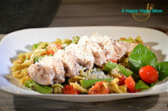 chicken and quinoa pasta