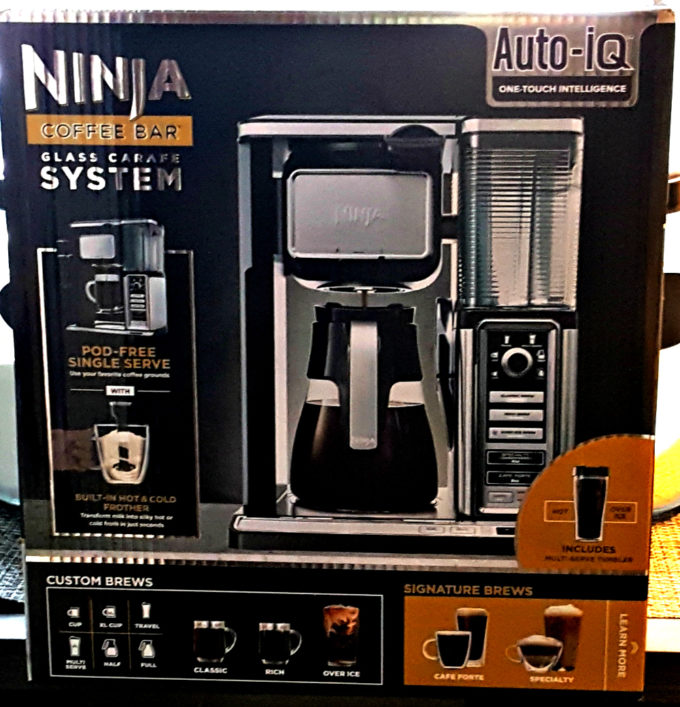 ninja coffee bar system box