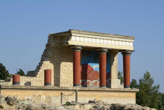 Minoan Knossos Palace