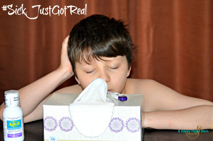 Preparing For Colds and Flu & Pfizer Gift Pack Giveaway! #SickJustGotReal