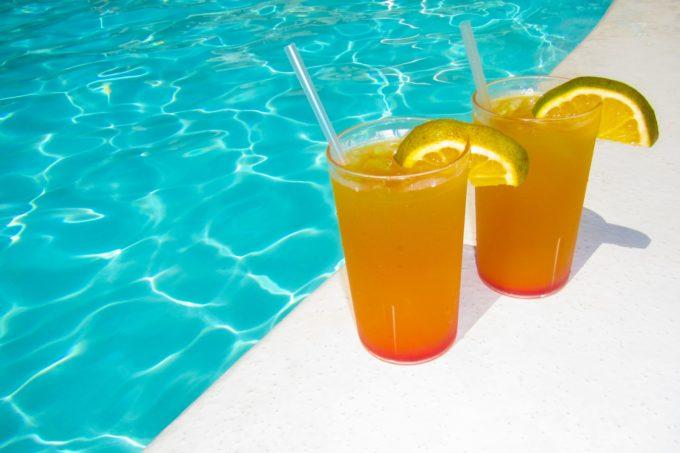 orange-drink-at-the-pool