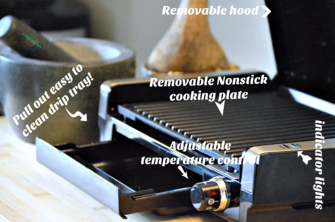 Searing Grill Features