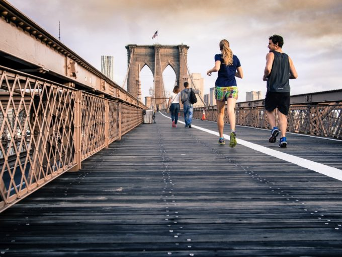bridge-runners-morning-cloudy