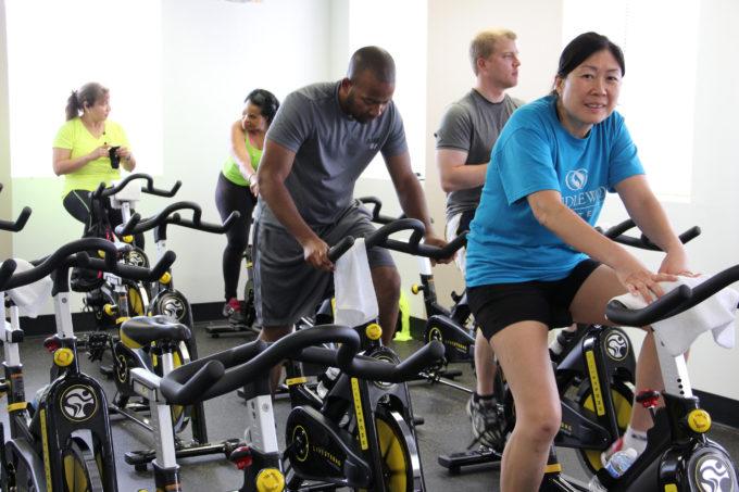 Spinning Class Aberdeen Fitness center