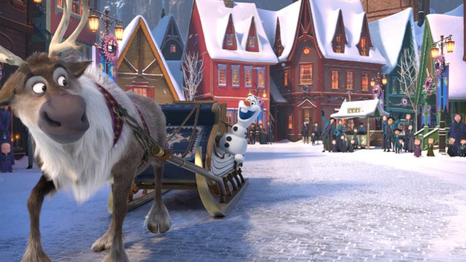Walt Disney Animation Studios Unwraps OLAF'S FROZEN ADVENTURE For the Holidays!