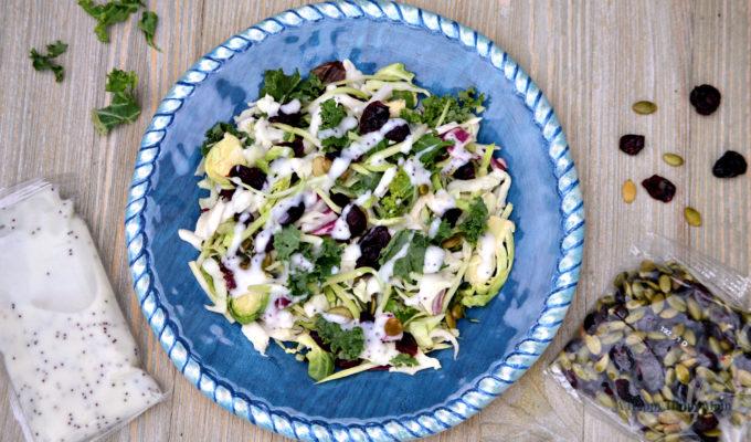 Eat Smart Eat Clean!  Eat Smart Sweet Kale Gourmet Vegetable Salad Kit