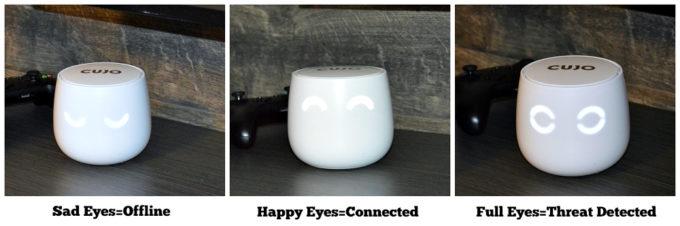 CUJO Eye Modes