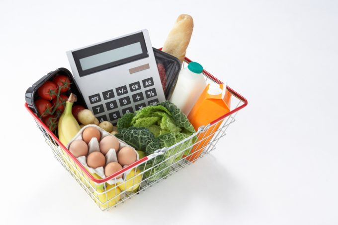 Basket-of-groceries-and-calculator