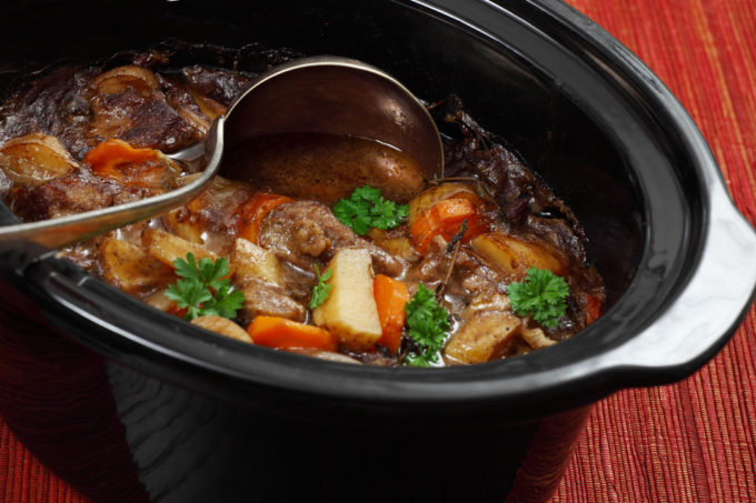 slow cooker pot