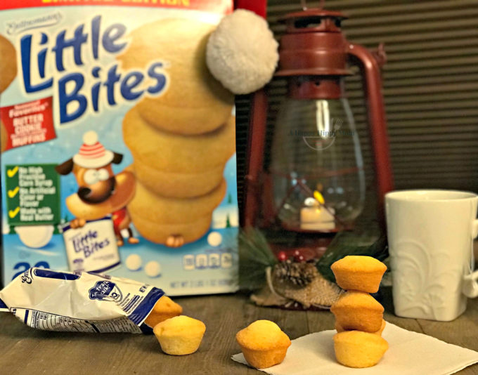 Festive Moments with Entenmann's® Little Bites® Butter Cookie Muffins & Visa Giveaway #LOVELITTLEBITES