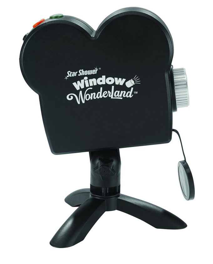 As seen on tv star shower window wonderland window projector system giveaway a happy hippy mom for Star shower projecteur
