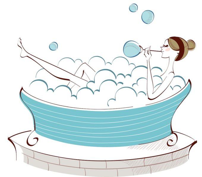de-stress bath