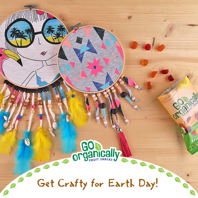 Earth Day Upcycled Craft Diy Dreamcatcher A Happy Hippy Mom